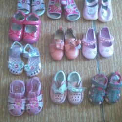 Shoes from 21 to 23r