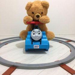 Children's electric locomotive