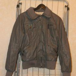 Новая серая куртка 44-46 размер