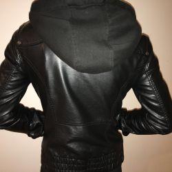 Кожаная куртка Colin's