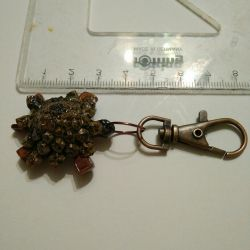 Original gift for loved ones, Turtle keychain