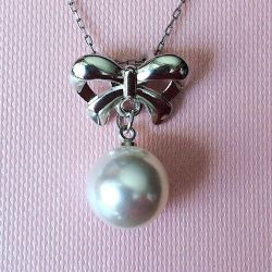 New pendant with pearls without a chain