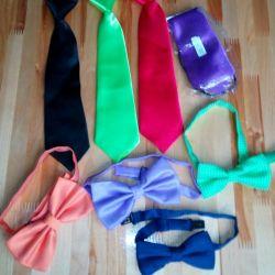 Новые галстуки и бабочки