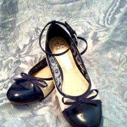 Ayakkabı, mokasen, bale ayakkabıları. RR 36.