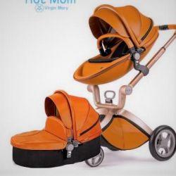 Bebek arabası Sıcak anne 2'si 1 arada