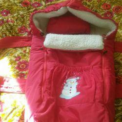 Τσάντα ύπνου γούνα προβάτων