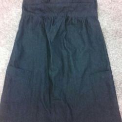Sundress-jeans for pregnant women