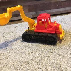 Tractor on tracks