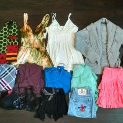 A pack of 15 things women's clothing M L
