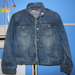 jeans jacket 138 r with buttons