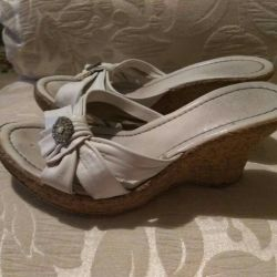 Обувь пакетом из натуральной кожи