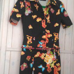 Dress with butterflies