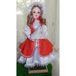 Кукла коллекционная, ручной работы,