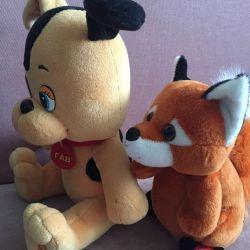 Jucarii: Puppy Woof si Fox