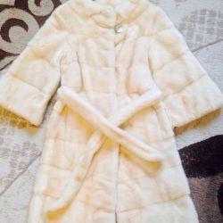 Fur coat mink size 40-42