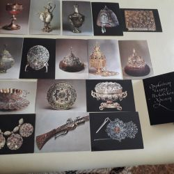 A set of cards The Armory of the Moscow Kremlin