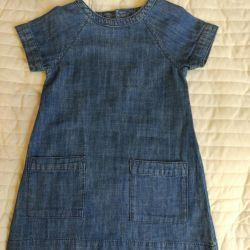 92 cm bir kız için elbise