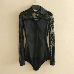 Lace Body Shirt