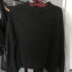 H & M Bat μανίκι πουλόβερ