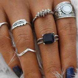 Σετ από 6 δακτυλίους