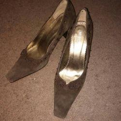 Süet ayakkabılar