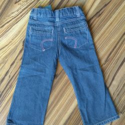 New warmed jeans, 98 size
