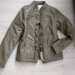 New leather jacket for 10-12 years