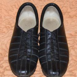 Δερμάτινα παπούτσια demi