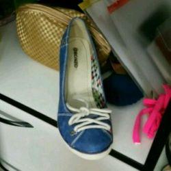 Mükemmel durumda ayakkabı
