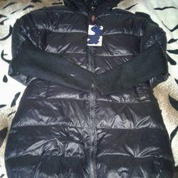 Demi-season down jacket new