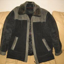 Ceket sonbahar kış (fermuarlı) - 54-56