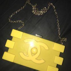 сумка клатч chanel lego