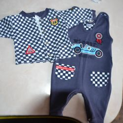 Suit for a newborn