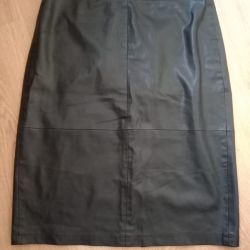 Faux leather skirt size 46-48