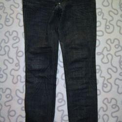 Kot pantolon düz