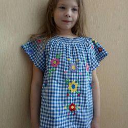 Новая хлопковая блузка, Турция