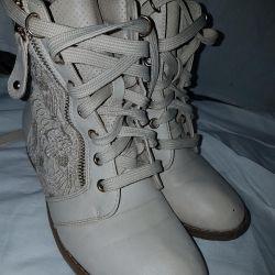 Pantofi. 37 p. Toamna, branț 24 cm