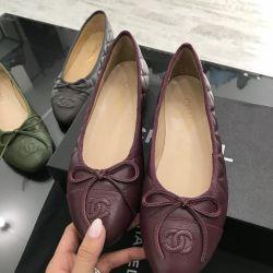 Ballerinas Chanel bordo süitler