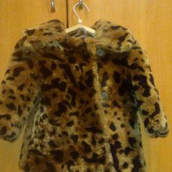 Fur coat children's tsigeyka