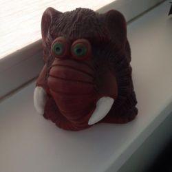 Mammoth piggy bank
