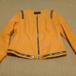 Jacket leatherette new