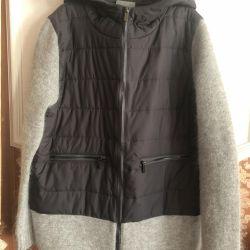 Jachetă lungă Pinko Angora / Lână
