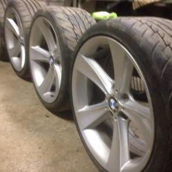 Tekerlekler 128 tarzı BMW orijinal