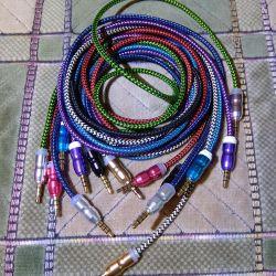 Cablu AUX împletit
