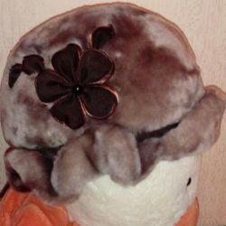 Шапка овчина/мутон/ новая с биркой