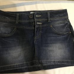 Mini Denim skirt new