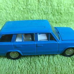 Model scale 1/43 VAZ-2102 blue USSR