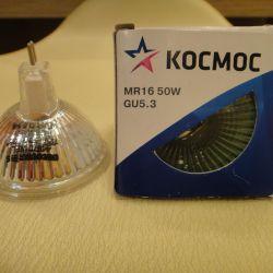 Halojen lamba MR 16 50 W 12 V ve 220 V