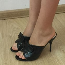 Shoes open black р.37
