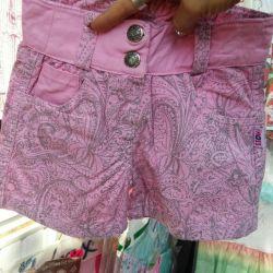 Pantaloni scurți de vară. Nu este scump!